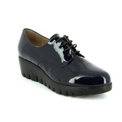 Wonders Everyday Shoes - Navy patent - C3370/70 FLYMORE