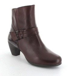 Wonders Boots - Ankle - Wine patent - G3641/80 WINKLE