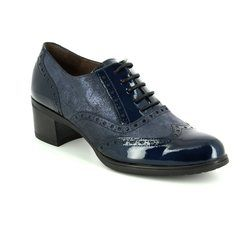 Wonders Shoe Boots - Navy patent - G4010/27 ANDREABRO