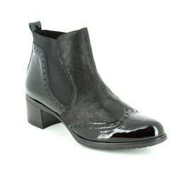Wonders Boots - Ankle - Black - G4082/30 ANDREA
