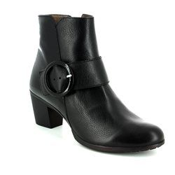 Wonders Boots - Ankle - Black patent - G4705/30 HEXANK
