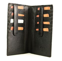 Yoshi Lichfield Purses & Wallets                        - Black - 2310/30 Yoshi Lichfield traditional two fold wallet