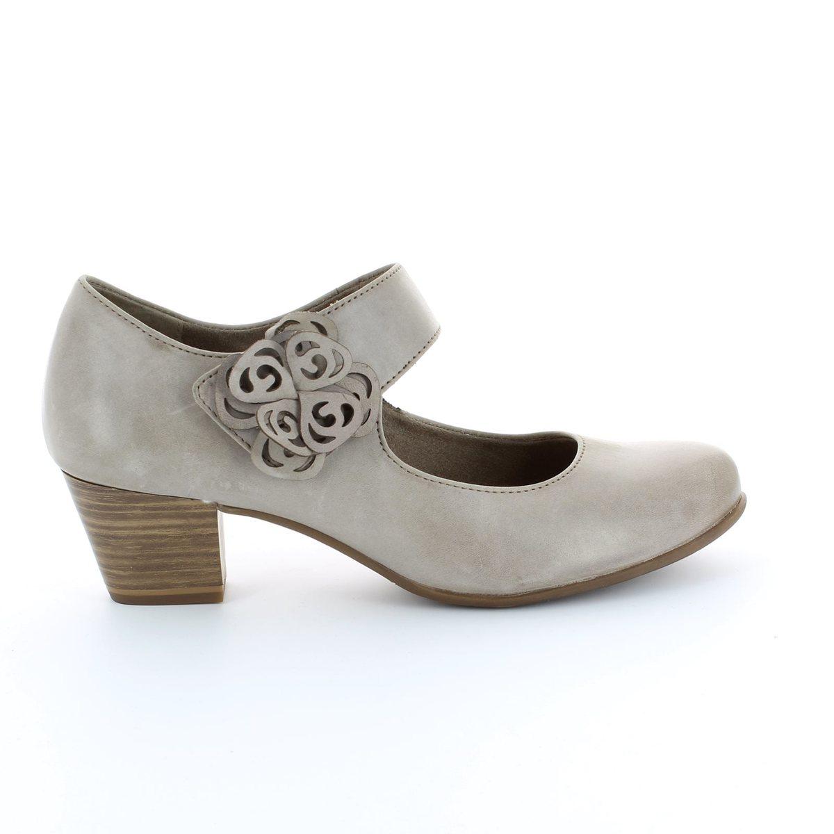 tamaris 24410 324 taupe heeled shoes. Black Bedroom Furniture Sets. Home Design Ideas
