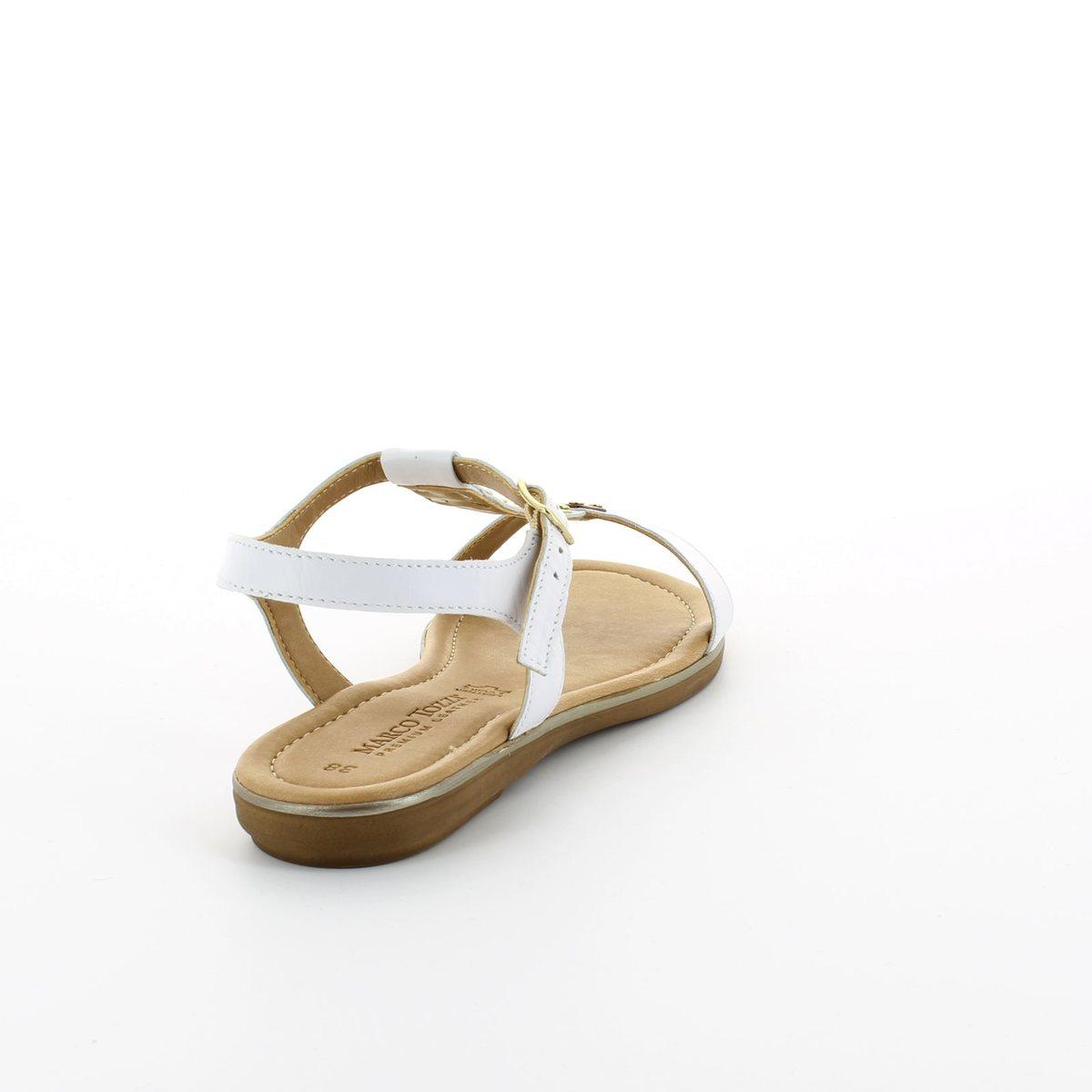 marco tozzi ruta 28161 100 white sandals. Black Bedroom Furniture Sets. Home Design Ideas