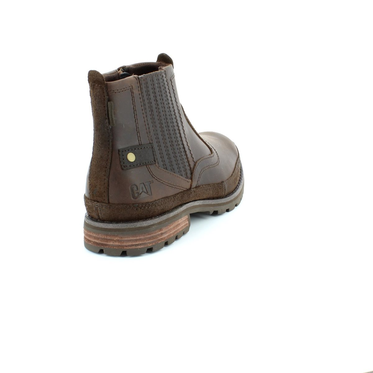 cat rivingston 7164 brown boots
