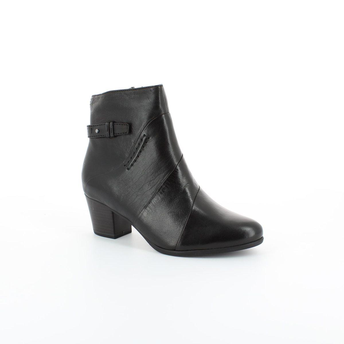 tamaris 25302 001 black ankle boots. Black Bedroom Furniture Sets. Home Design Ideas