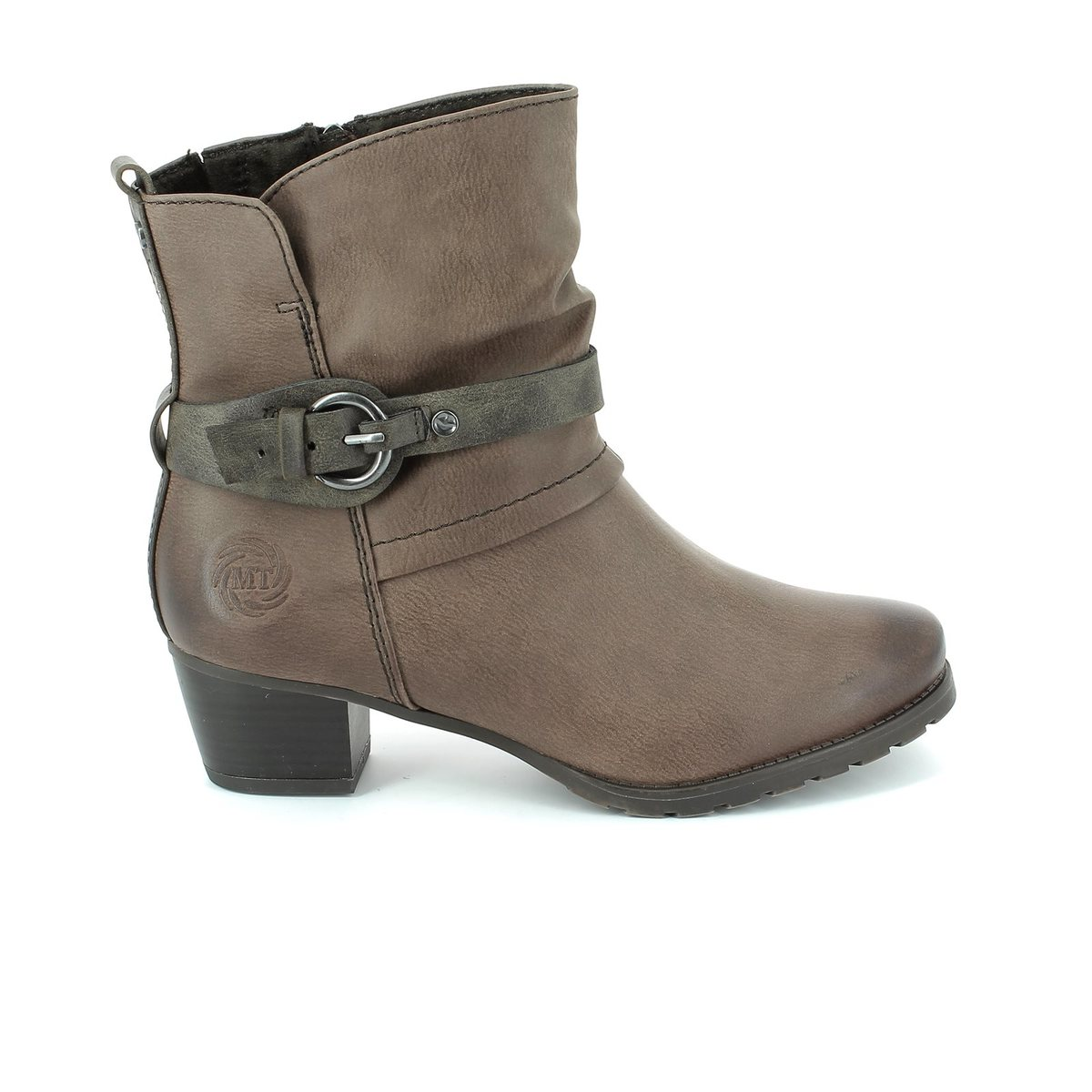 marco tozzi rosabuck 25374 322 taupe ankle boots