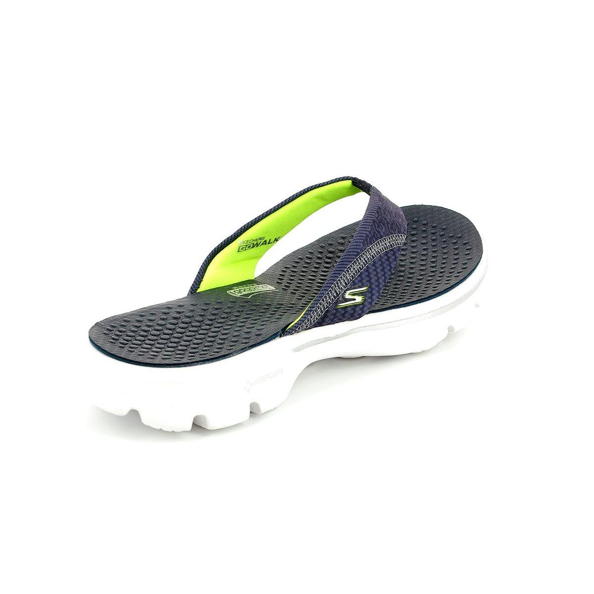 Skechers Pizazz Go Walk 14250 NVY Navy sandals