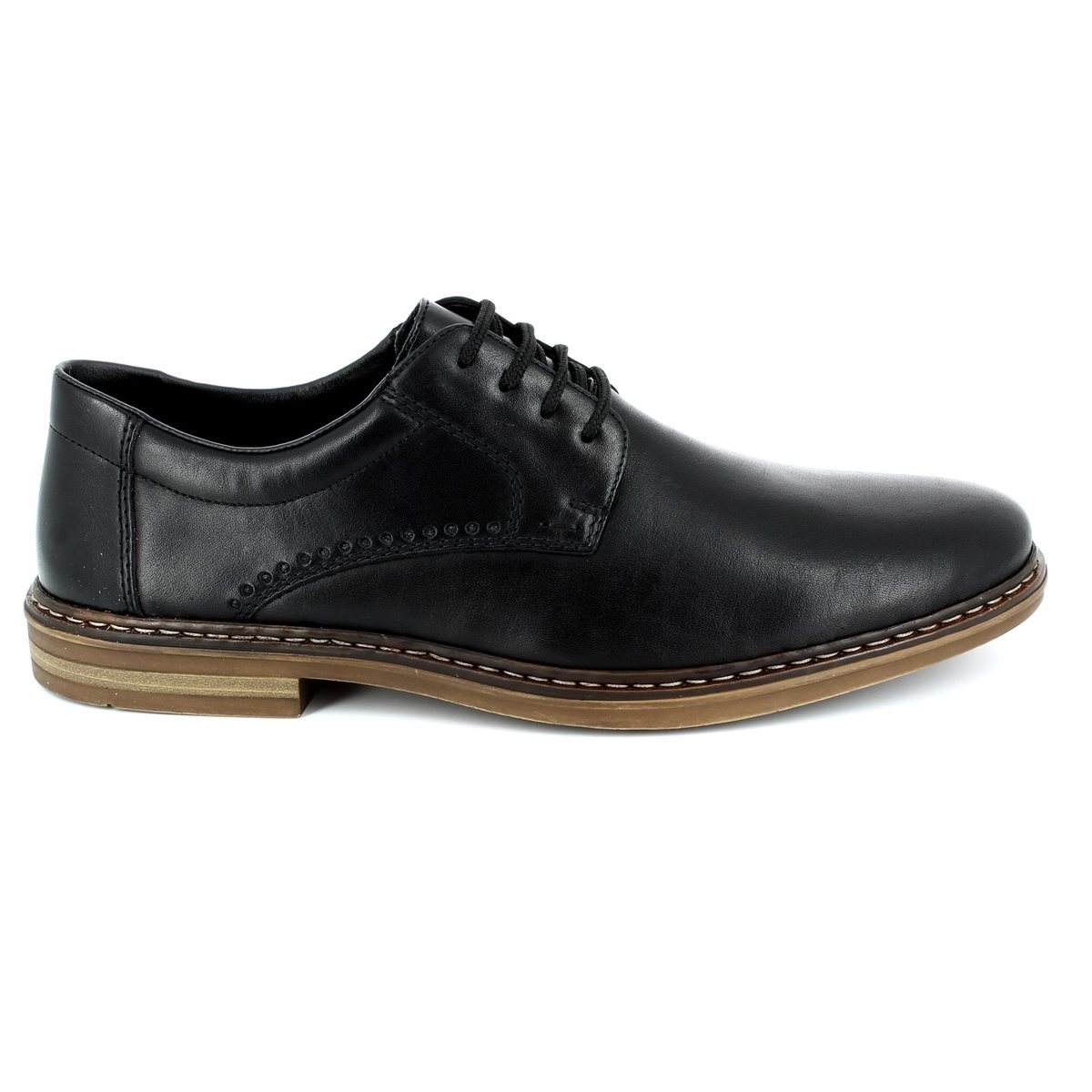 rieker b1440 00 black casual shoes
