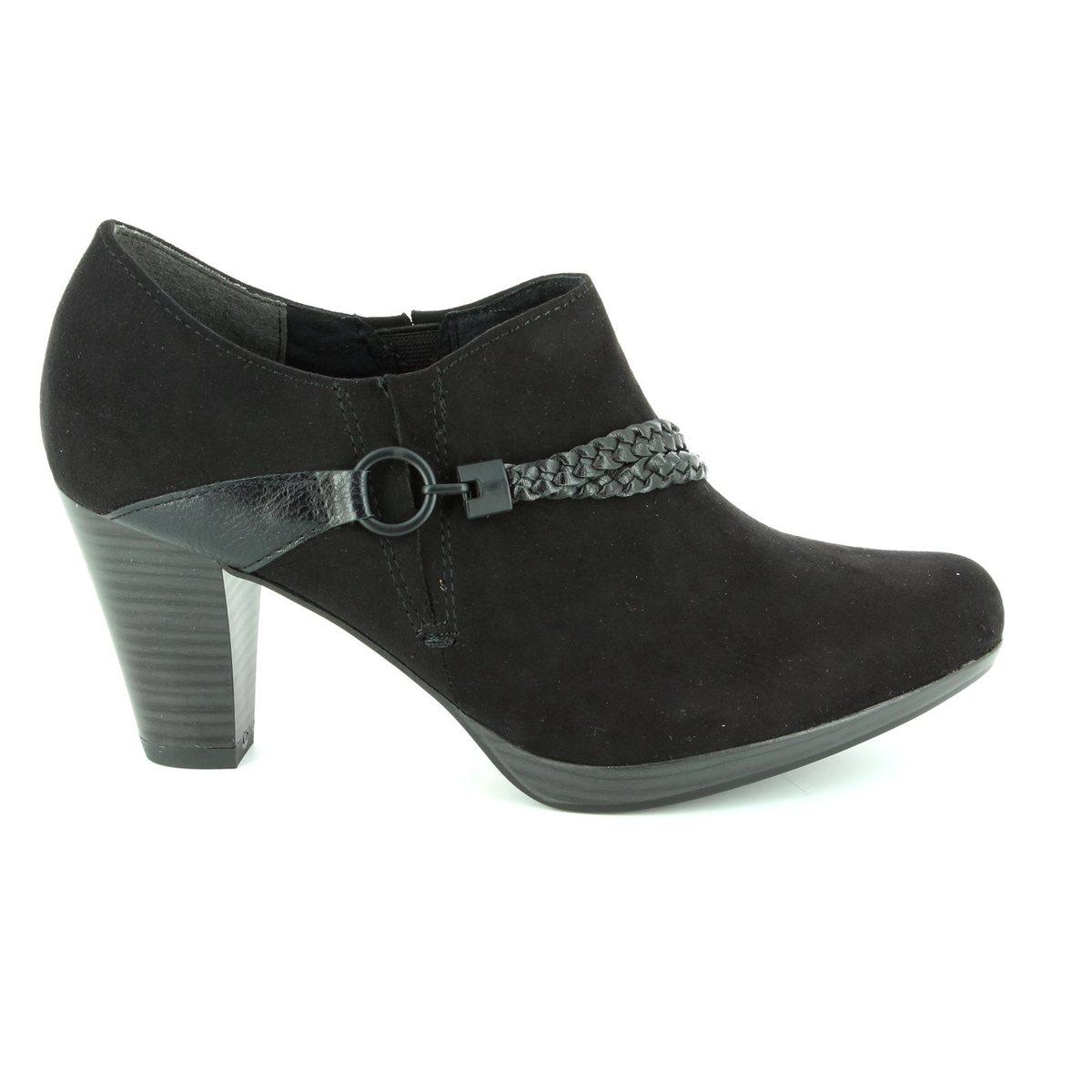 marco tozzi senagoza 24408 098 black shoe boots. Black Bedroom Furniture Sets. Home Design Ideas