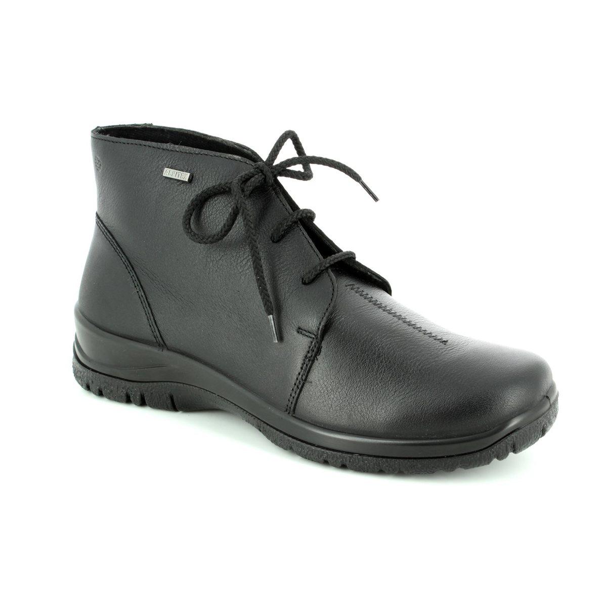 Alpina Ronyboot Tex R Black Ankle Boots - Alpina boot