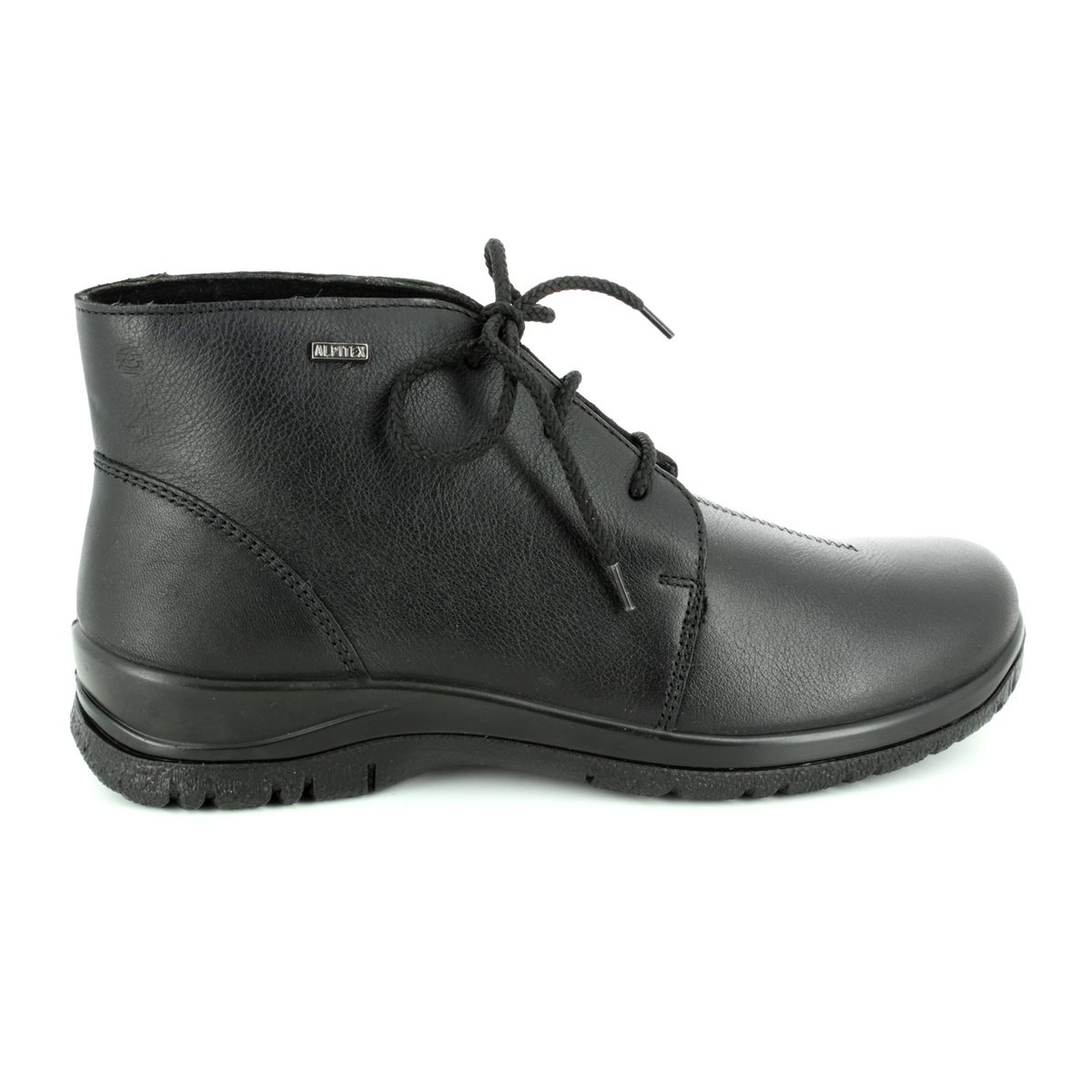 Alpina Ronyboot Tex R Black Ankle Boots - Alpina boots