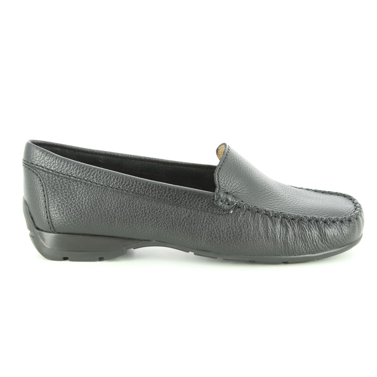 ac52f059722 Ambition Loafers - Black leather - 40539 30 SUNDAY WIDE FIT
