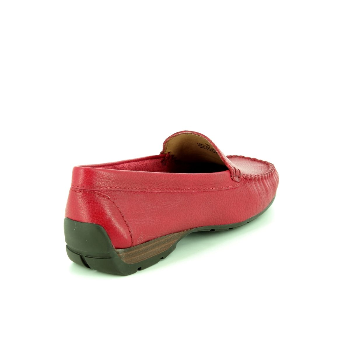 c2ecc903503 Ambition Loafers - Red leather - 40539 80 SUNDAY WIDE FIT
