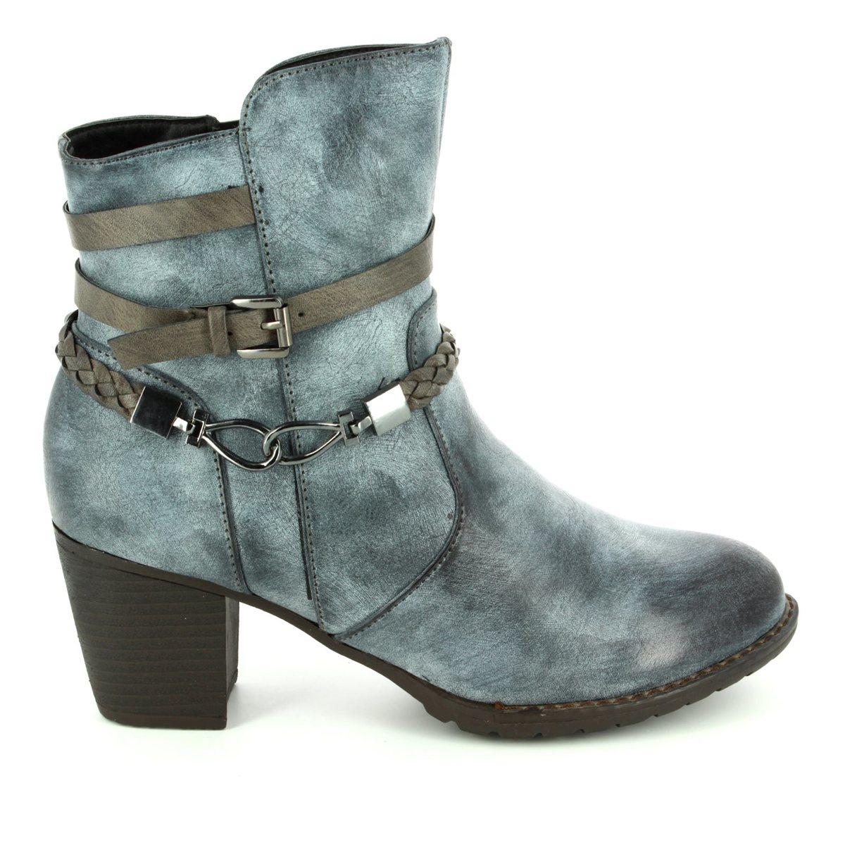 633b2f37d50e7 Begg Shoes Ankle Boots - Blue - 225355/41 SARAST