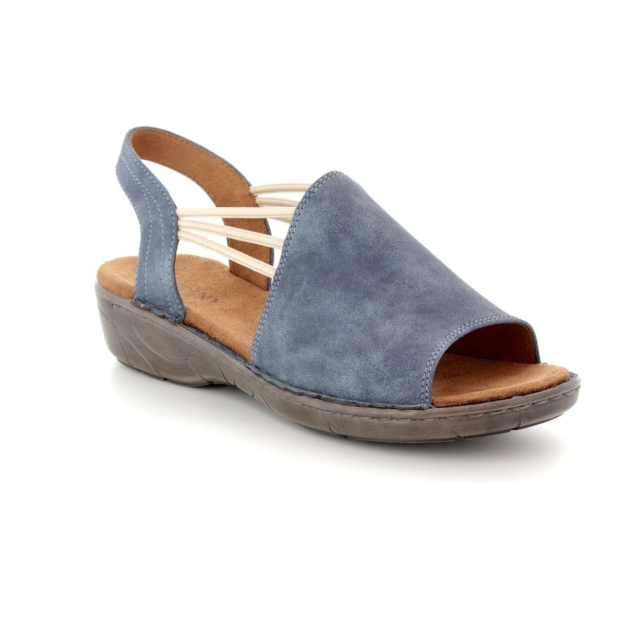 eb4dbd3faa9 Ara Sandals - Denim blue - 57283 93 KORSIKA 81
