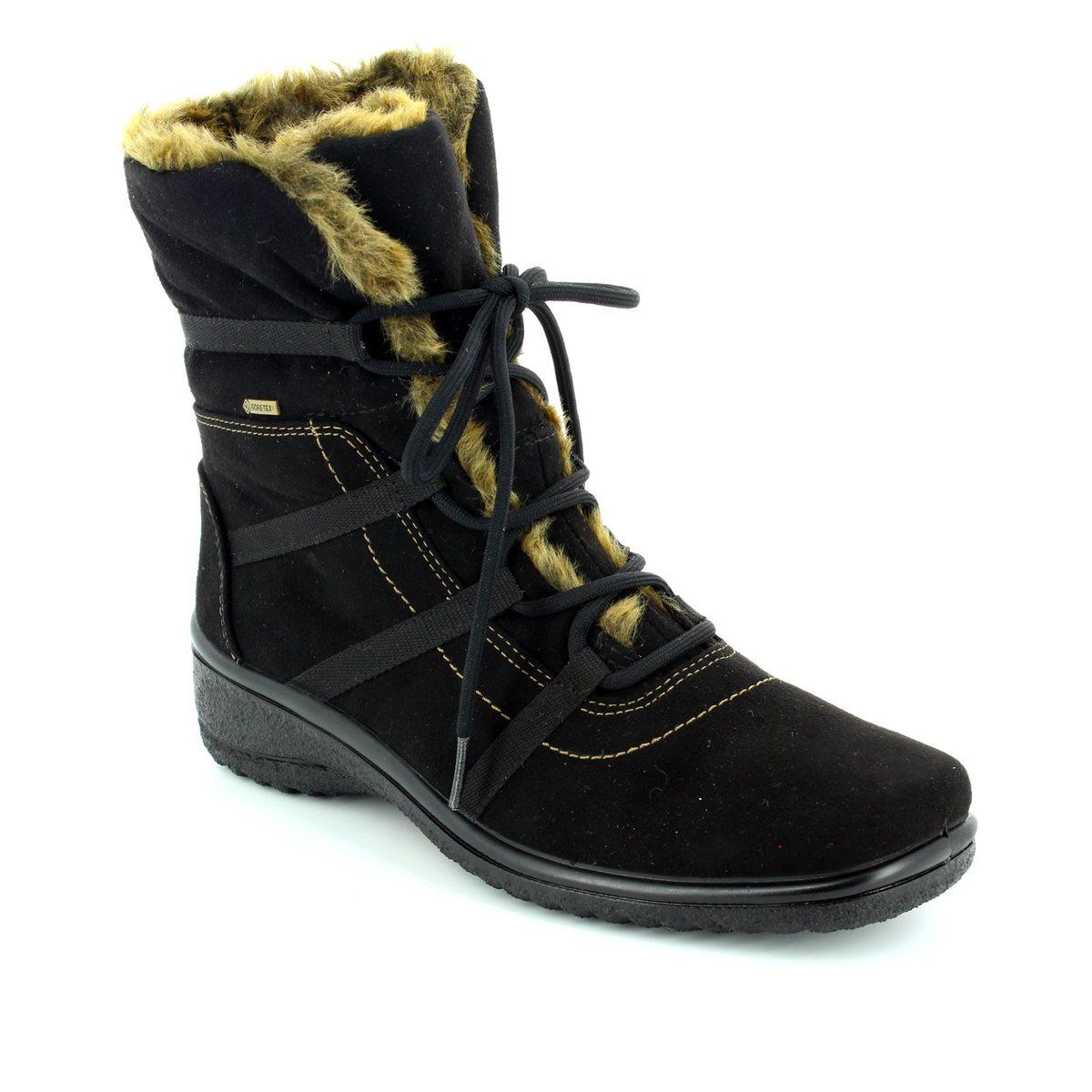 029549bacc5 Ara Winter Boots - Black - 48523/06 Munich Boot Gore-tex