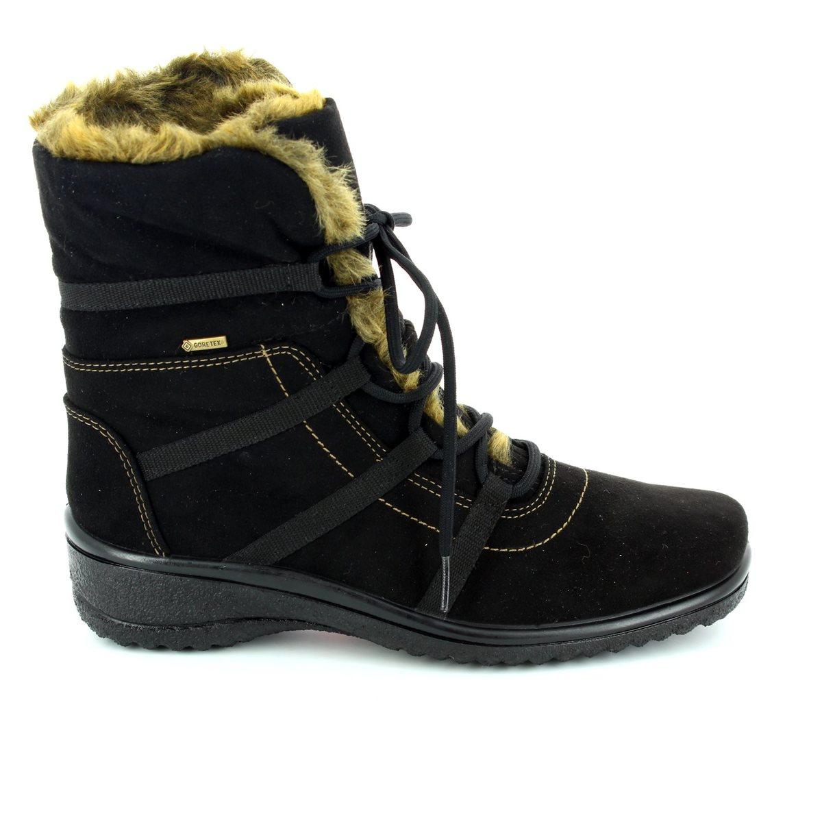 Ara Munich Gore tex 1248523 06 Black winter boots