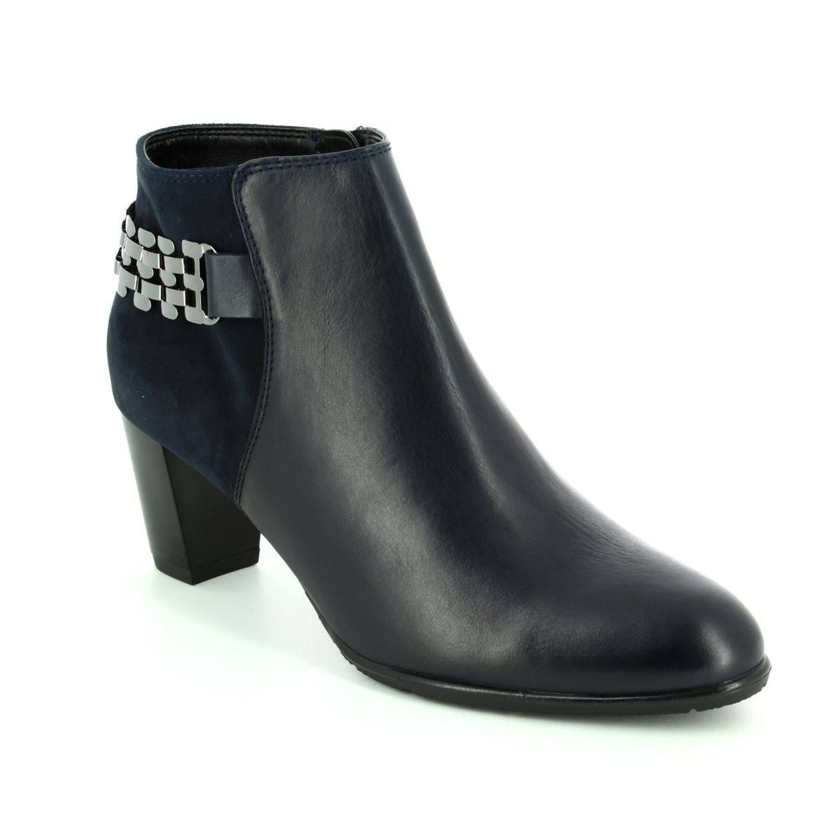a535fd305dee Ara Ankle Boots - Navy - 43463 75 TOULOUISE