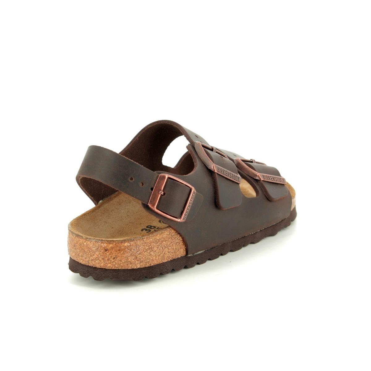 c946641b0c94 Birkenstock Sandals - Brown leather - 0034873 MILANO HABANA OILED LEATHER