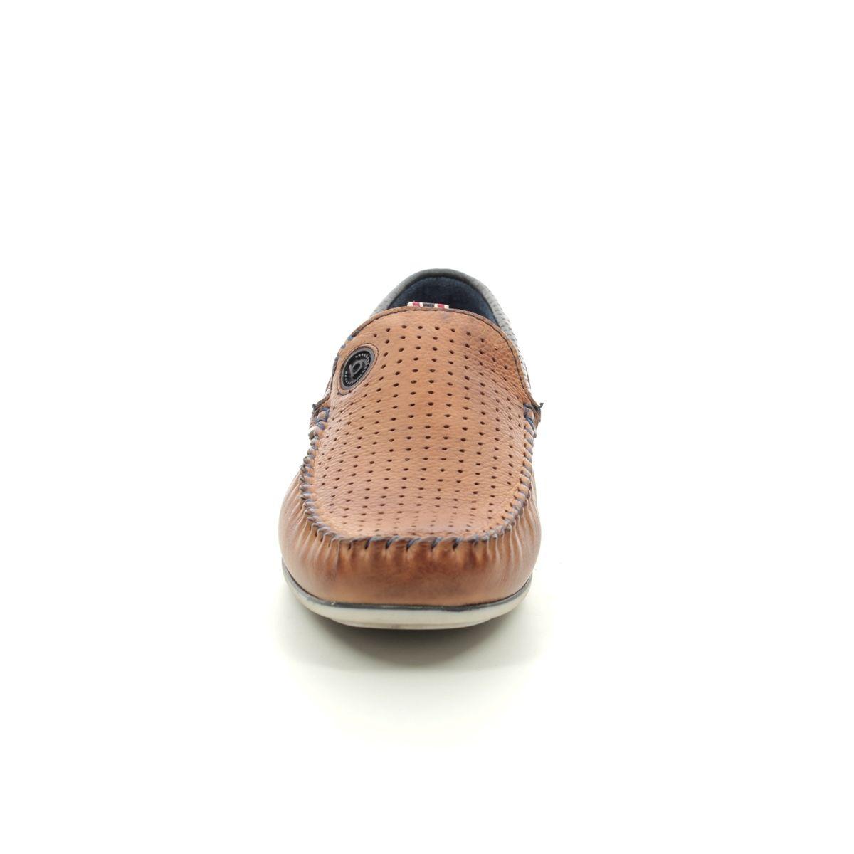 39544fd1b90 Bugatti Loafers - Tan Leather - 32170466 6340 CHEROKEE