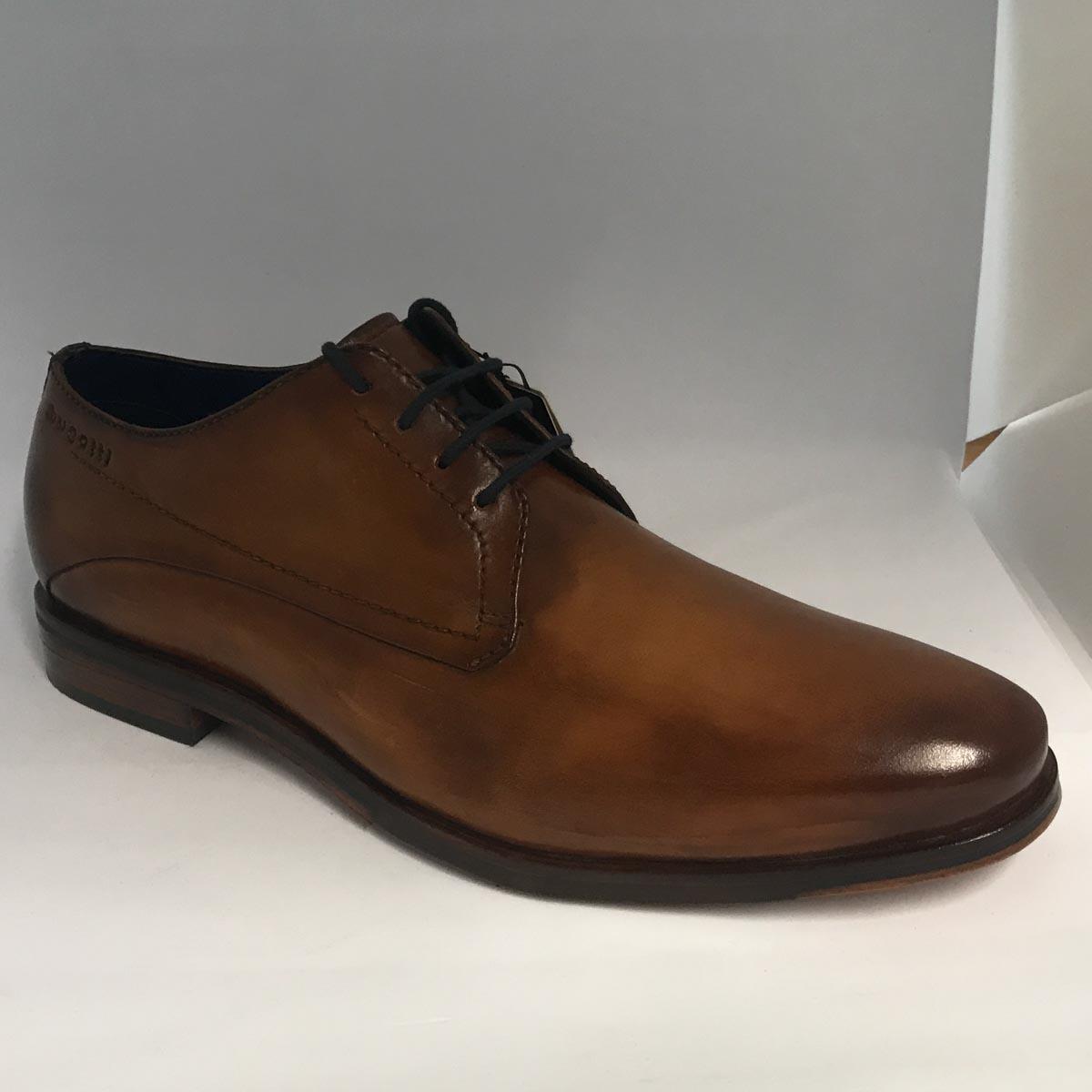 7e72b73e Bugatti Formal Shoes - Tan Leather - 31177701/6300 NUNZIO EXKO W