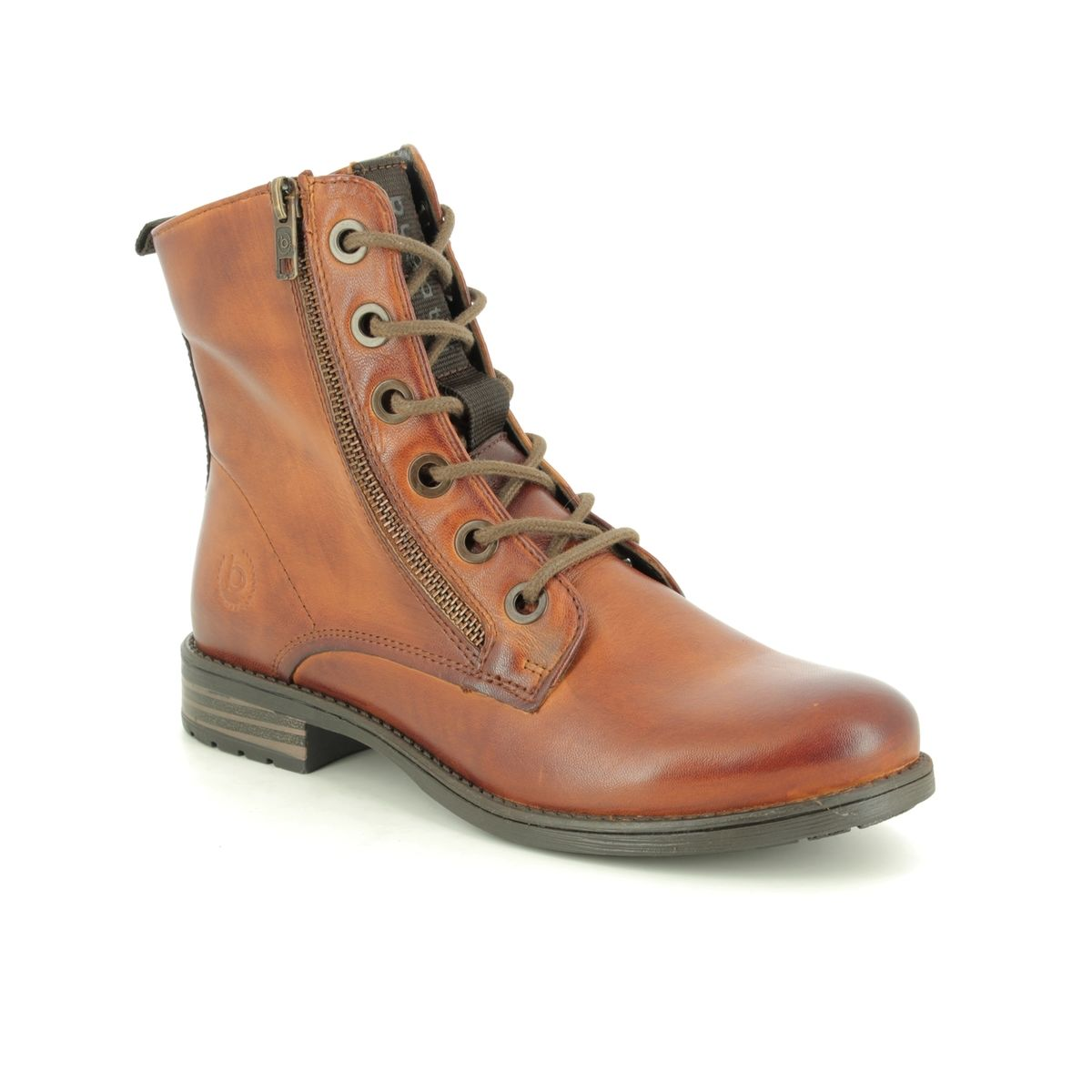 new arrival delicate colors shop best sellers Bugatti Ronja 4115693A-6300 Tan Leather ankle boots