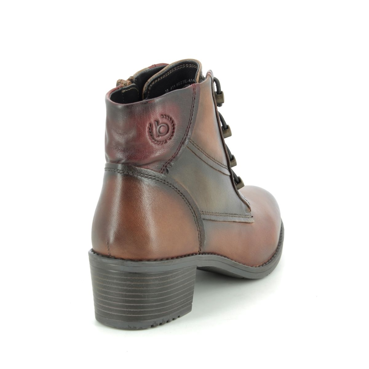 Bugatti Ruby 4115623E-6381 Brown leather ankle boots