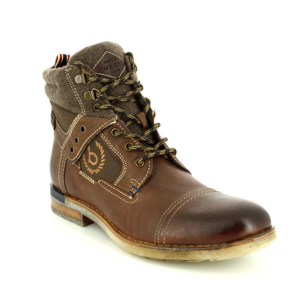 shoes for cheap free delivery wholesale sales Bugatti Sub Evo 33630-6161 Dark Brown boots