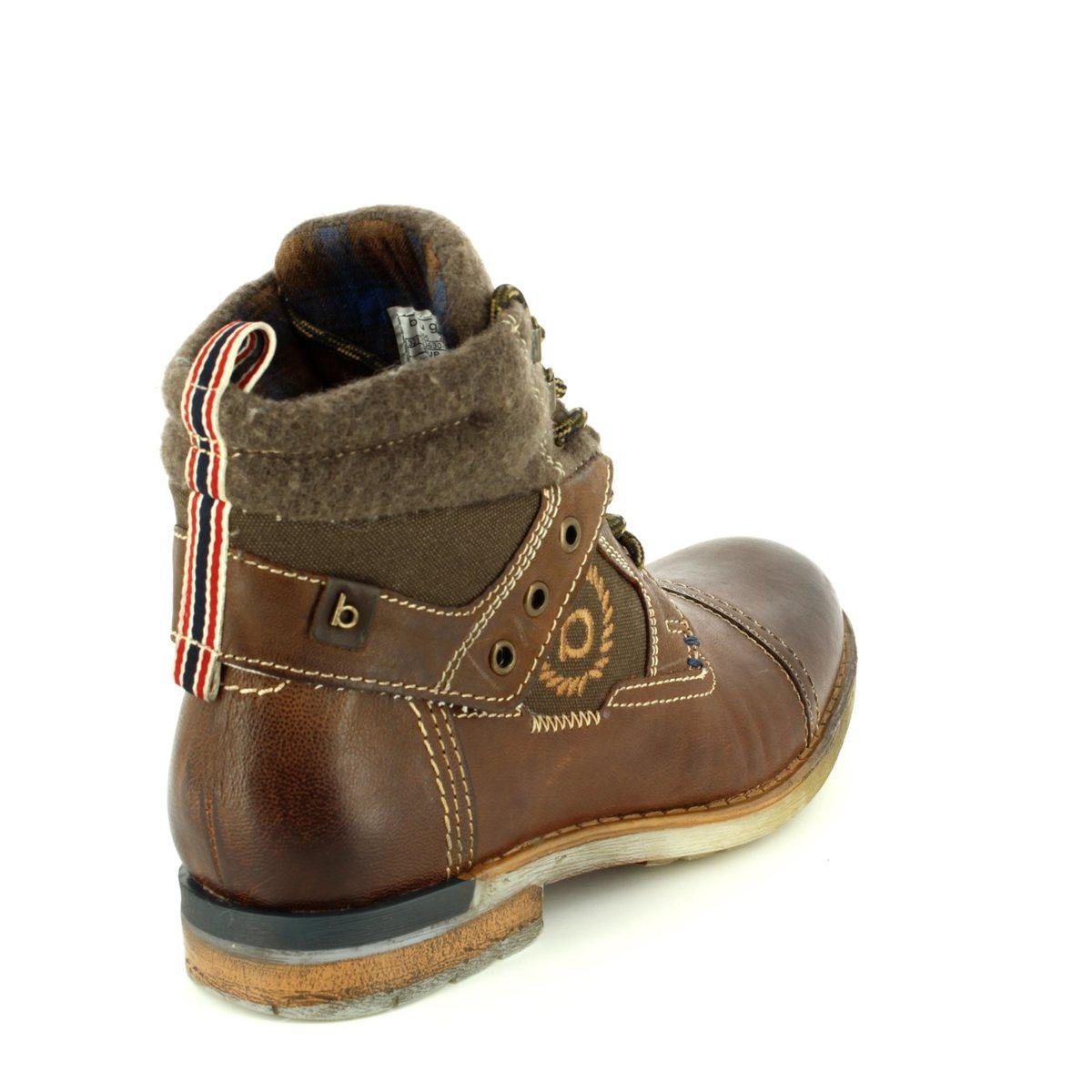 bugatti sub evo 33630-6161 dark brown boots