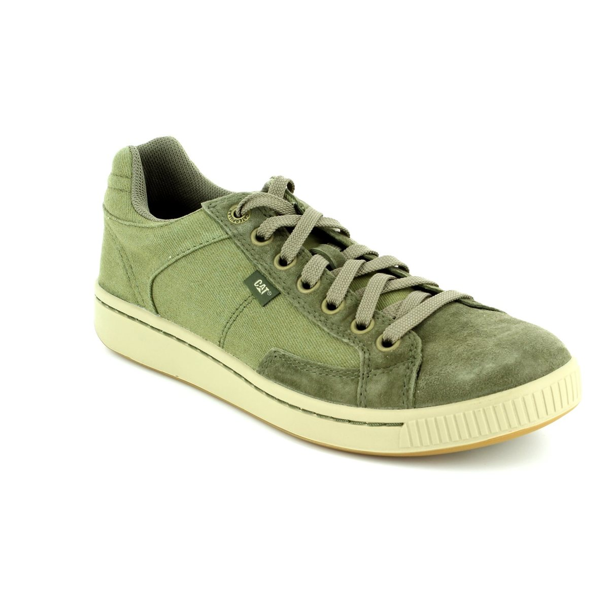 Mens Cadre Canvas Trainers CAT NlID7njc