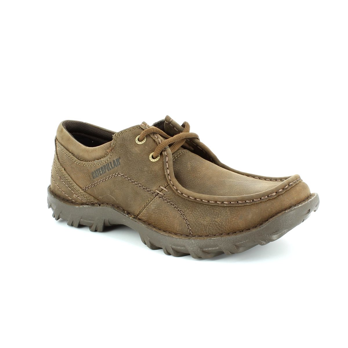 cat consequent bit 7184 brown casual shoes