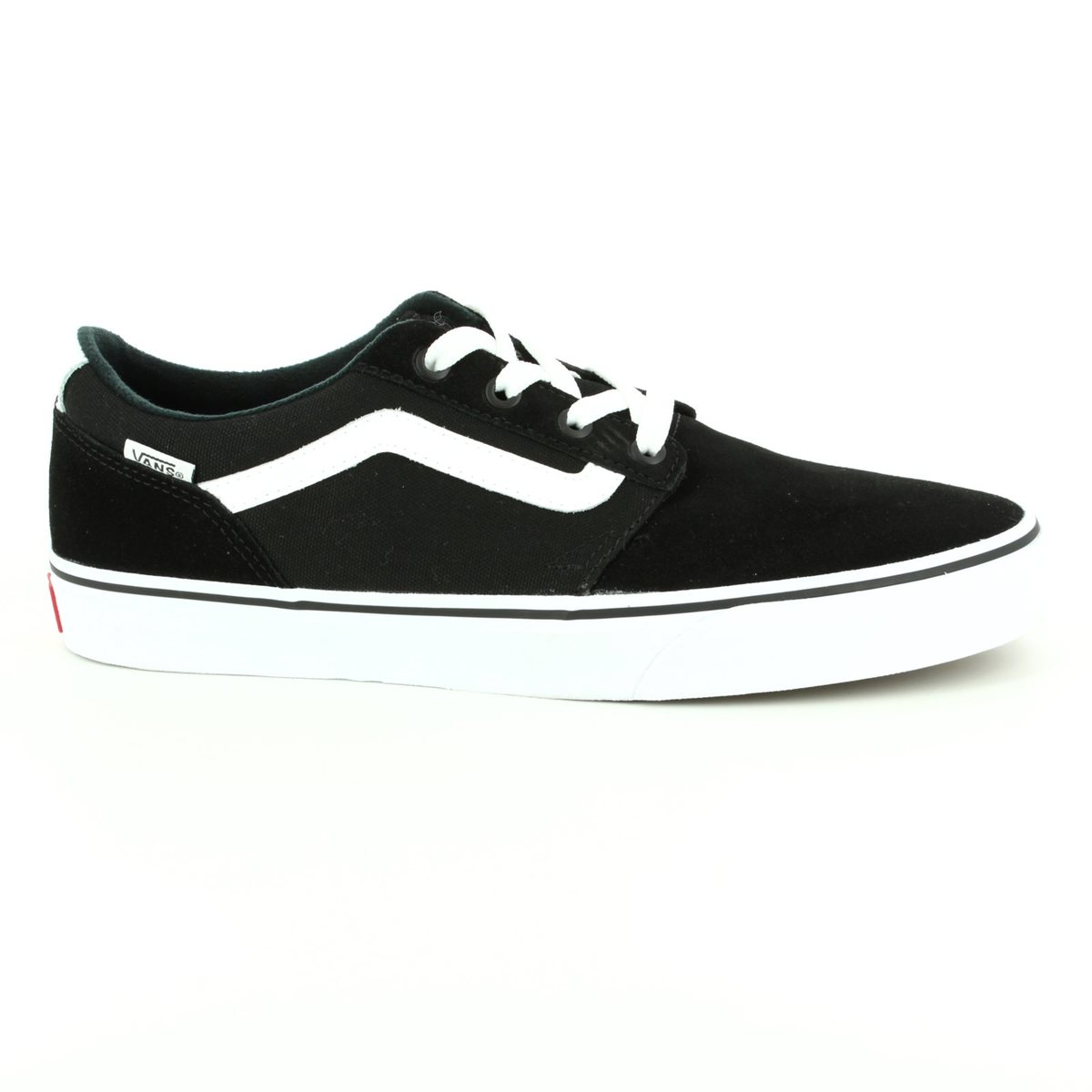 reputable site 0fca7 df6b7 Nike  Vans Trainers - Black - VA38CBC4R 30 CHAPMAN STRIPE ...