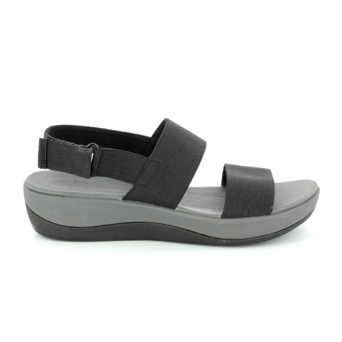 08823bfc412 Clarks Sandals - Black - 2560 34D ARLA JACORY