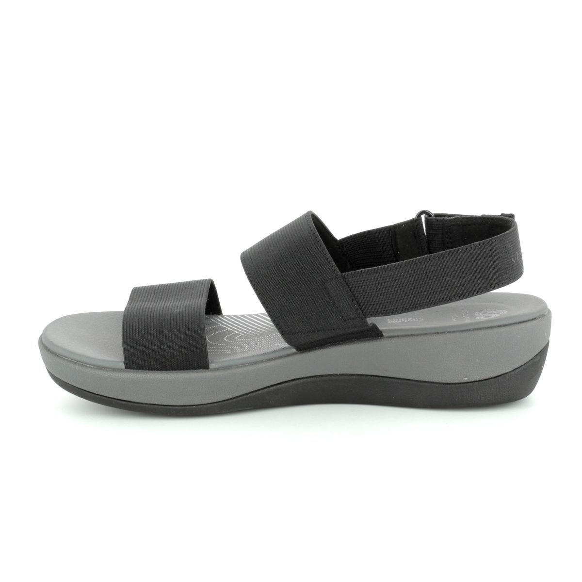 74a4ba511e5b Clarks Sandals - Black - 2560 34D ARLA JACORY