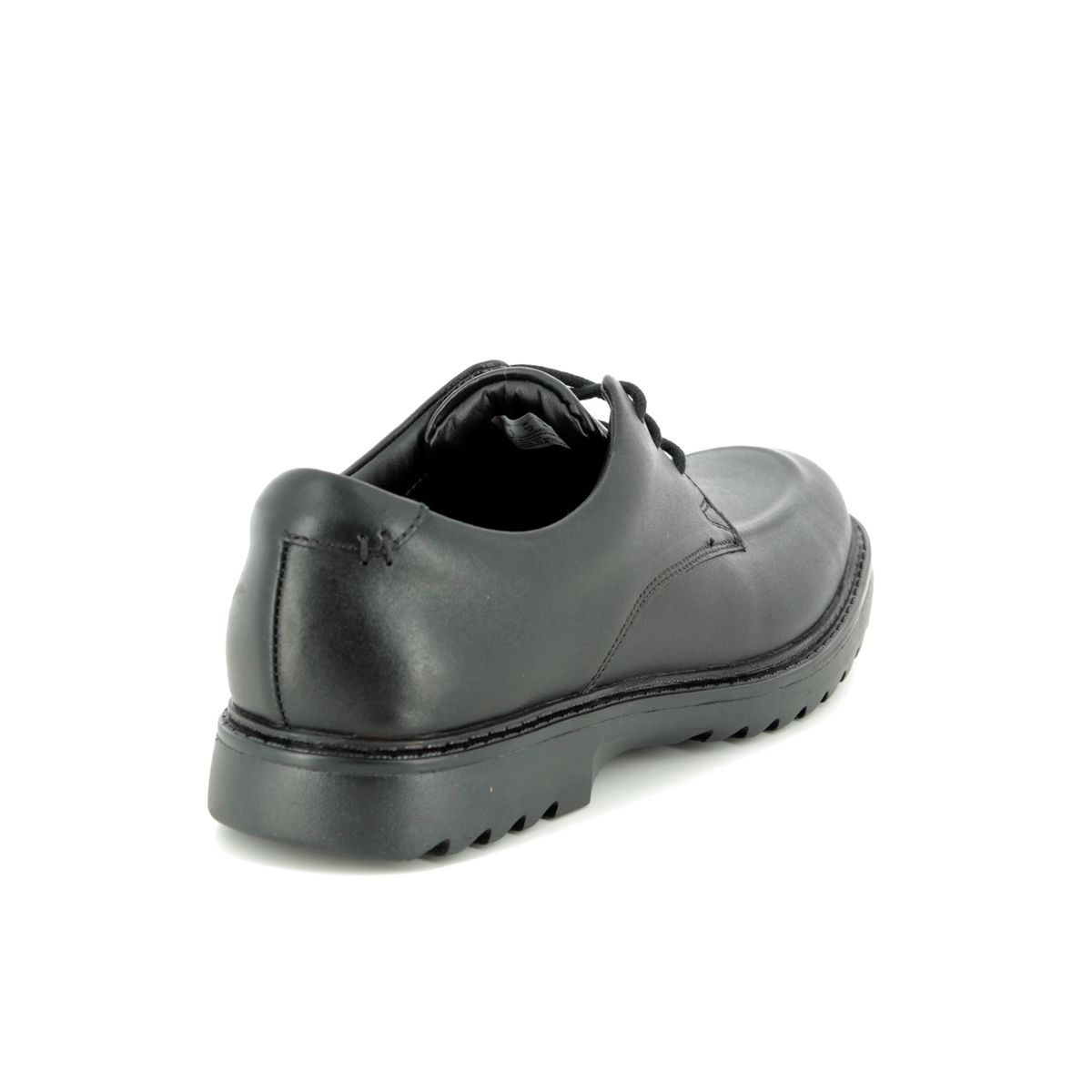 0ab6f0d08 Clarks School Shoes - Black leather - 3489 47G ASHER GROVE