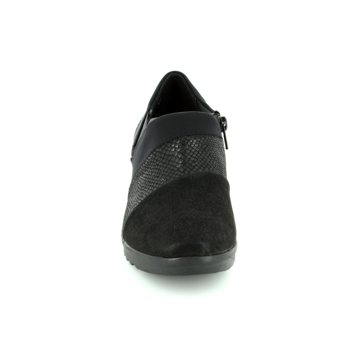 Clarks Caddell Denali D Fit Black Comfort Shoes Island Slip On Loafers Leather Dark Brown 2936 94d