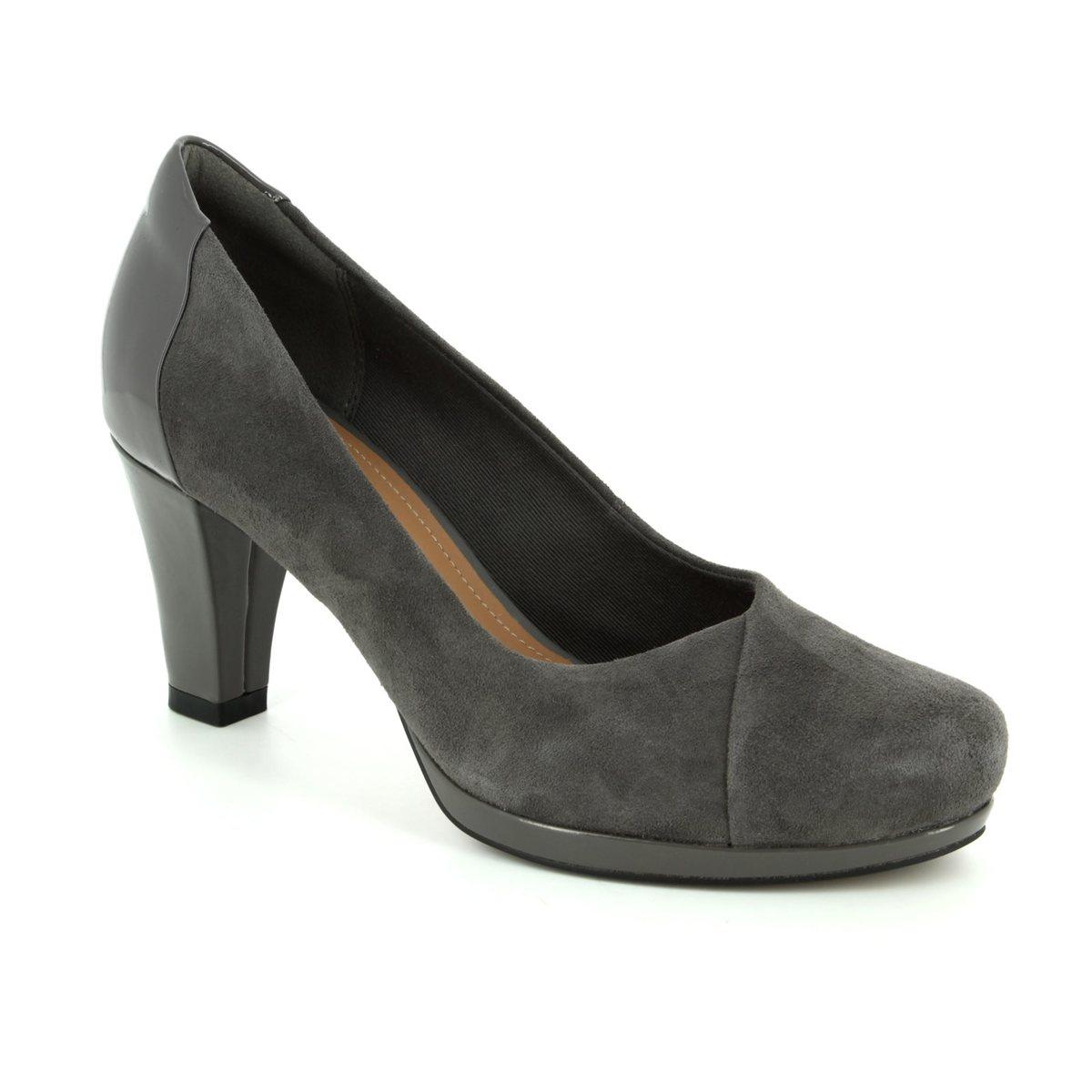 53b25892f Clarks High-heeled Shoes - Dark Grey - 2882 04D CHORUS CAROL
