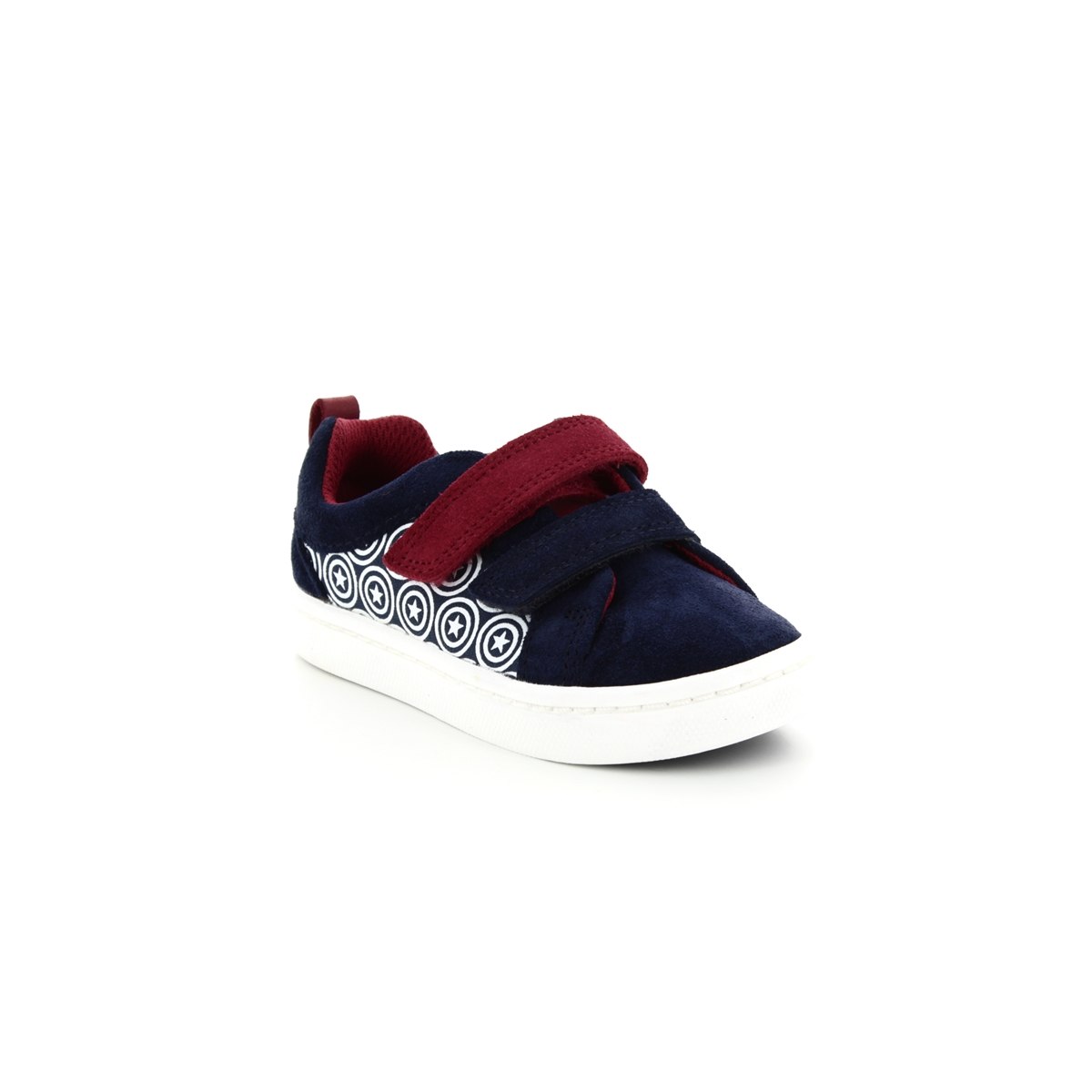 37a53b33fa7 Clarks First Shoes - Blue Suede - 3764 77G CITY HERO LO