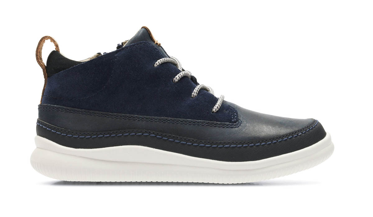 e648eda2c1d168 Clarks First Shoes - Navy leather - 2980 37G CLOUD AIR FST