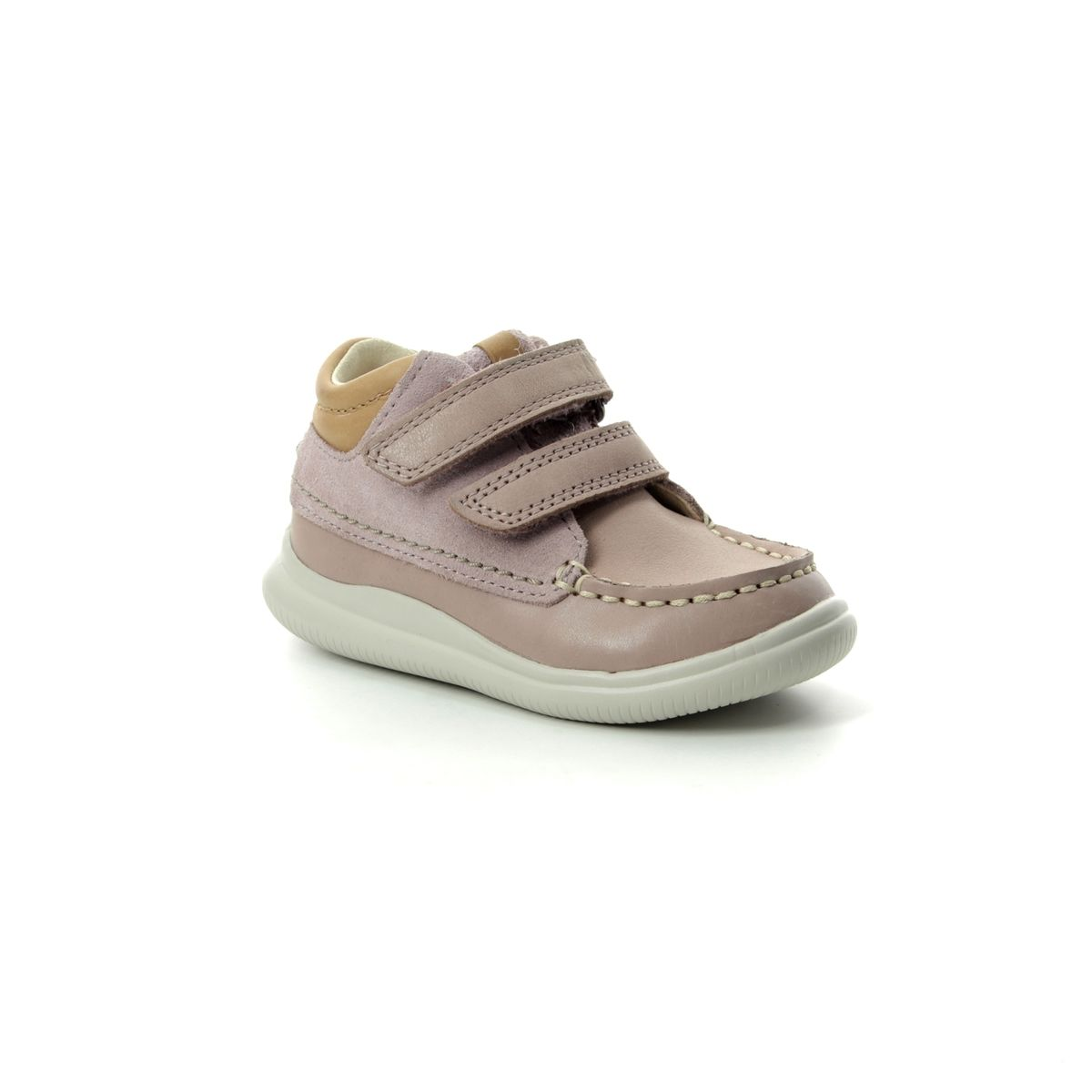 ba1e78bc7587b4 Clarks First Shoes - Pink Leather - 3580 46F CLOUD TUKTU