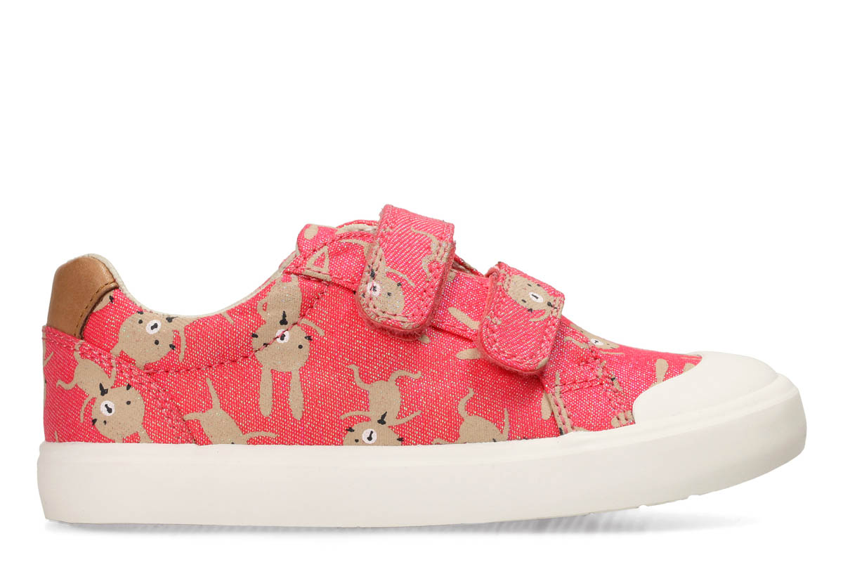 325ba066dc2 Clarks Trainers - Coral - 3279 36F COMIC COOL