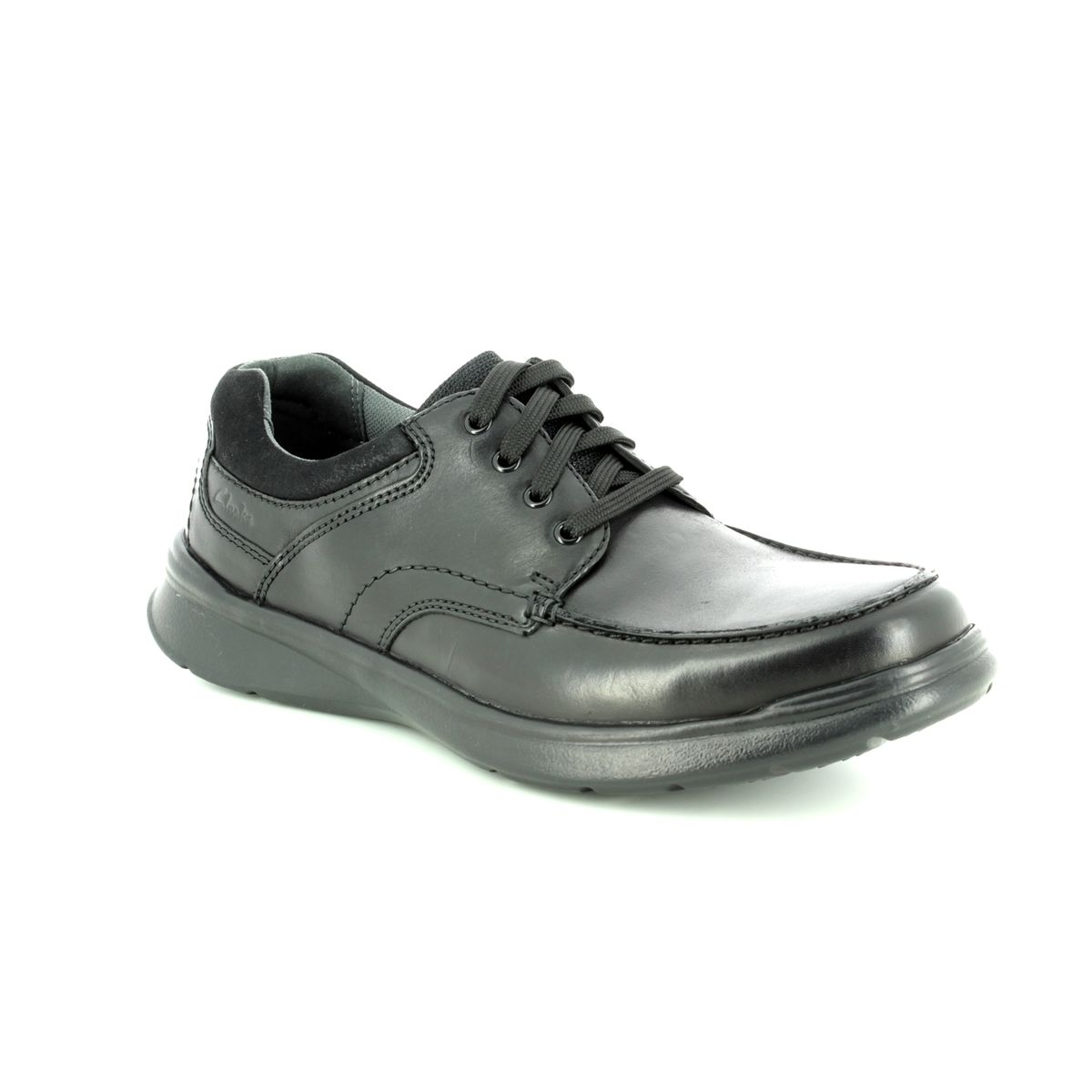 ab206ae31d0 Clarks Casual Shoes - Black leather - 3738/58H COTRELL EDGE