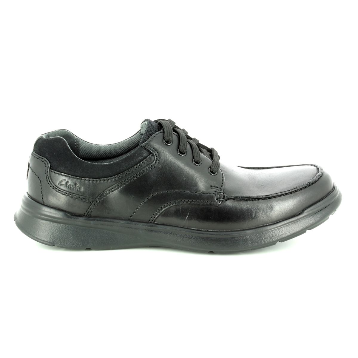 dc44ecb9069d9 Clarks Casual Shoes - Black leather - 3738 58H COTRELL EDGE