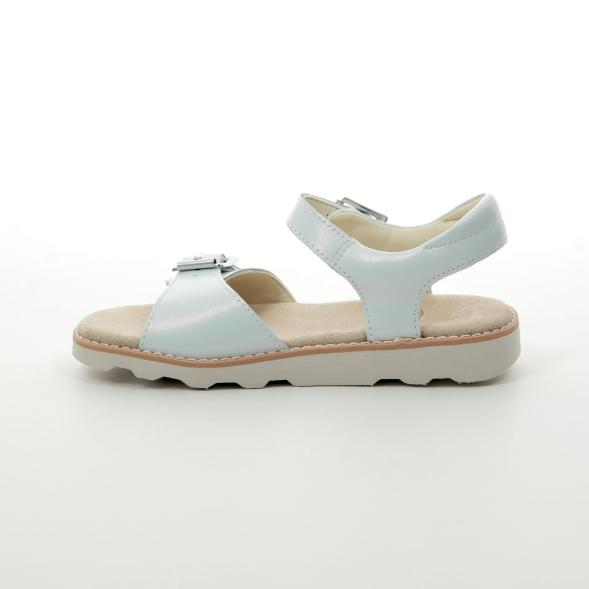 de11bdaf9171 Clarks Sandals - Silver - 412636F CROWN BLOOM K