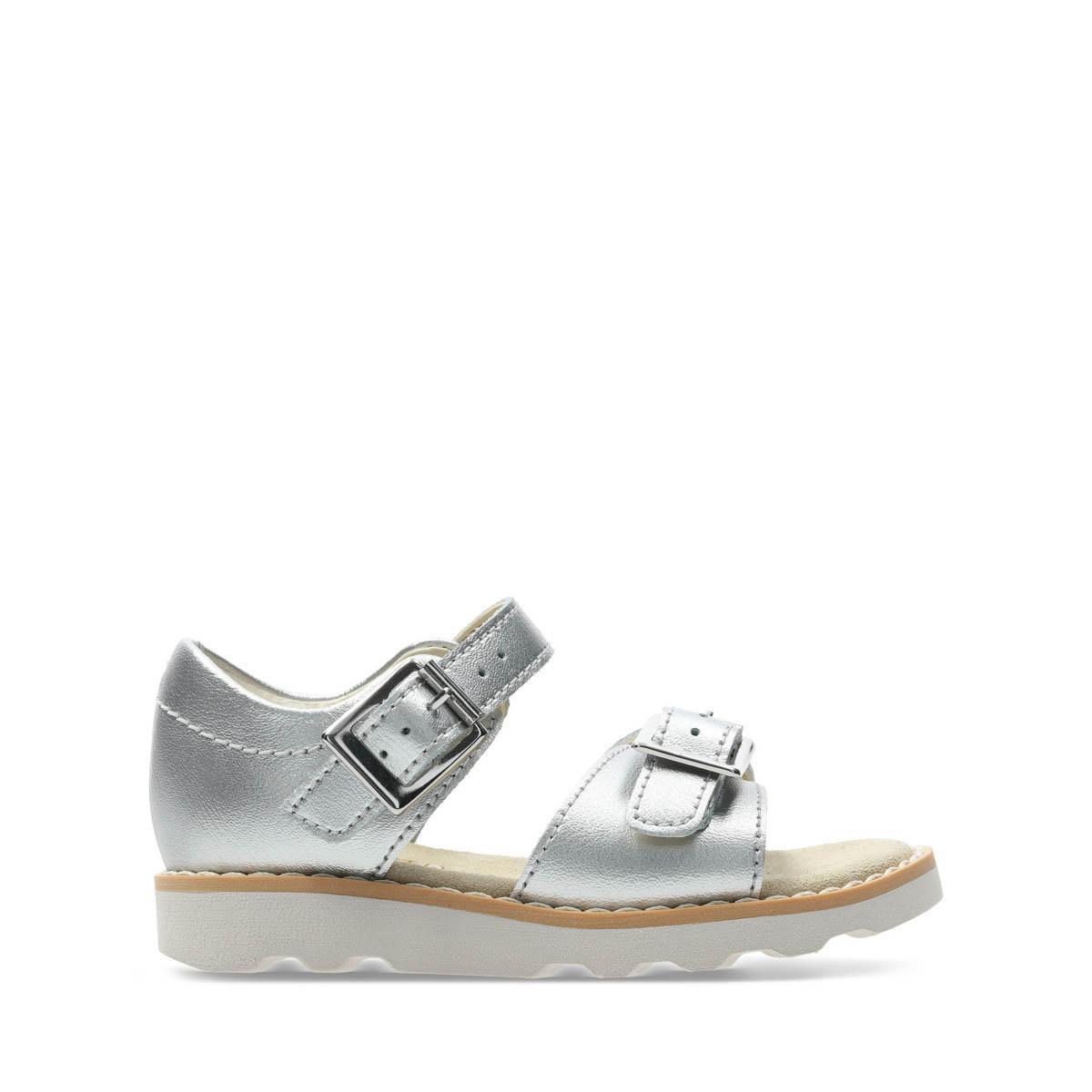 e63e23b525a Clarks Sandals - Silver - 411226F CROWN BLOOM T