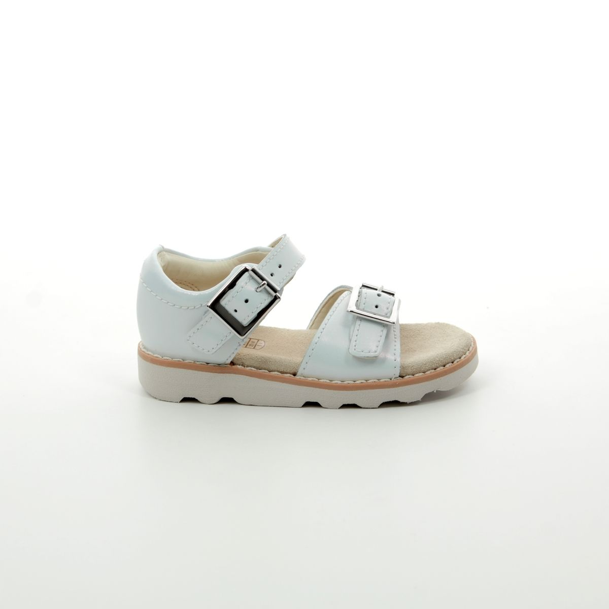 042c7a8124a Clarks Sandals - Silver - 411226F CROWN BLOOM T
