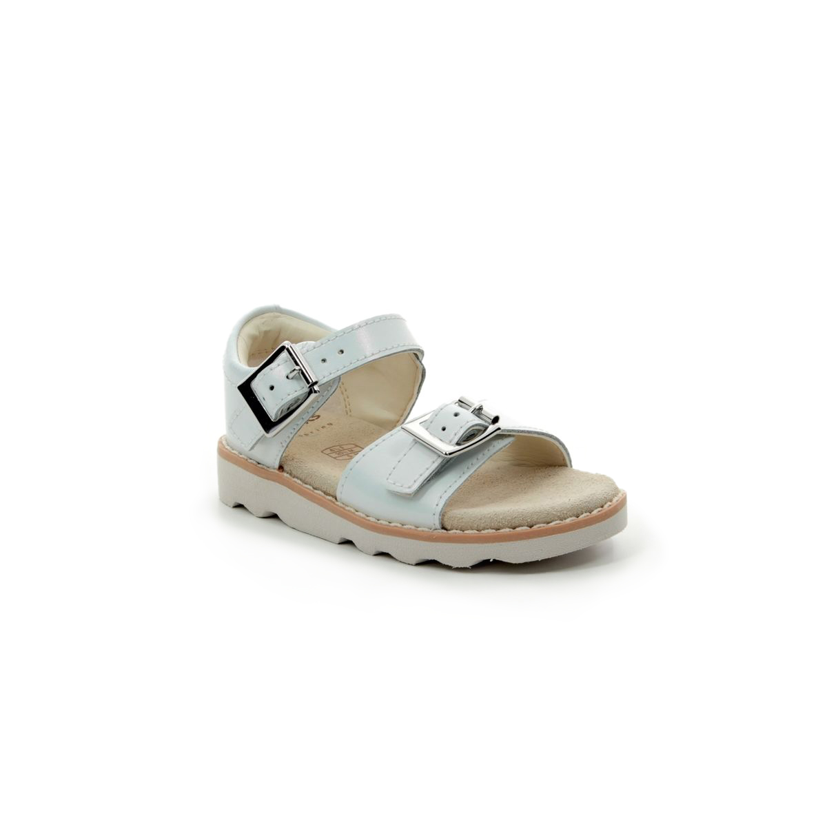 97661f251589 Clarks Sandals - Silver - 411226F CROWN BLOOM T