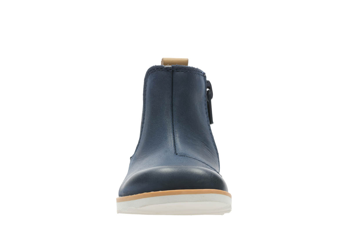 c6da5efa0dab7 Clarks First Shoes - Navy leather - 3714/56F CROWN HALO