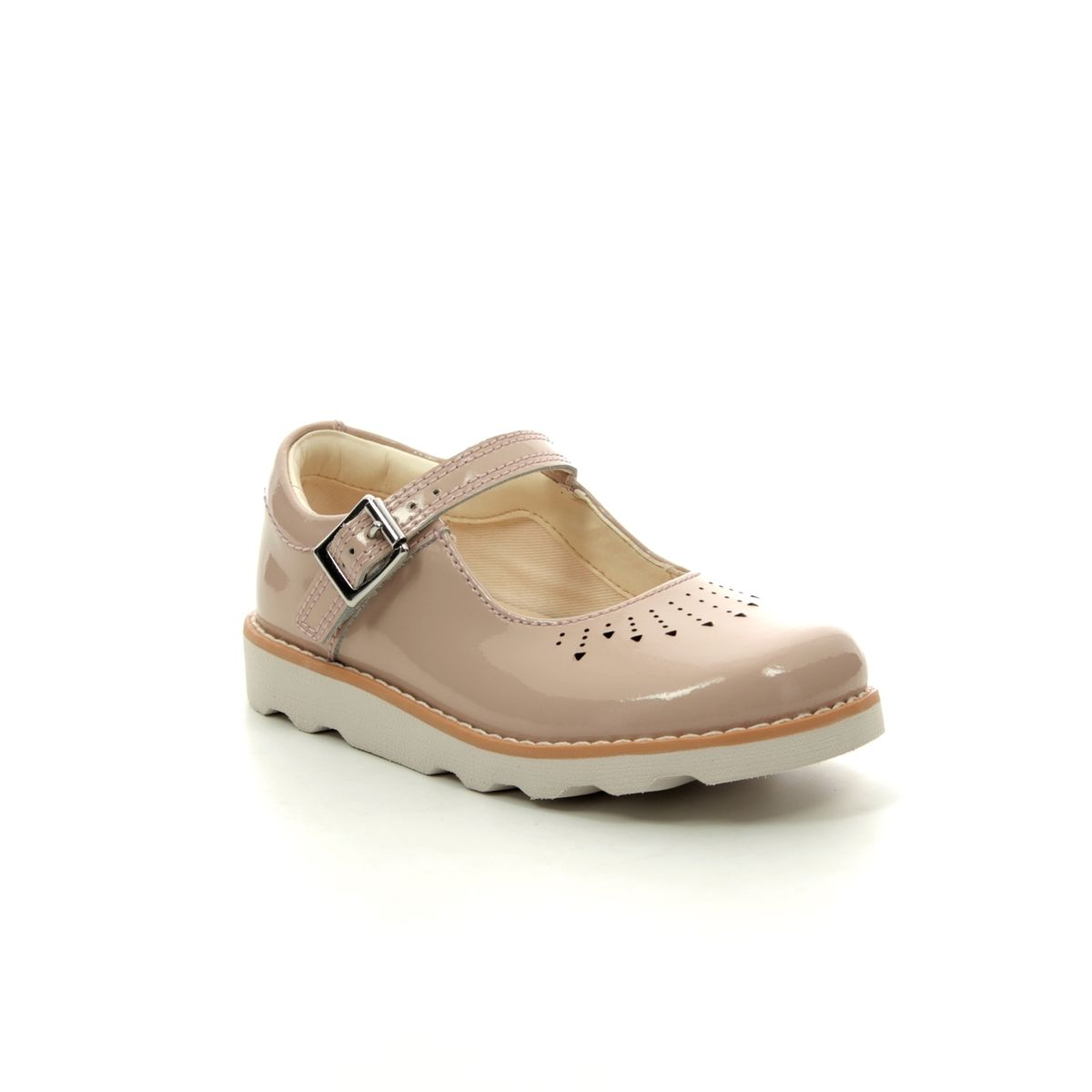 6cc5e29156627 Clarks First Shoes - Nude Patent - 415397G CROWN JUMP T